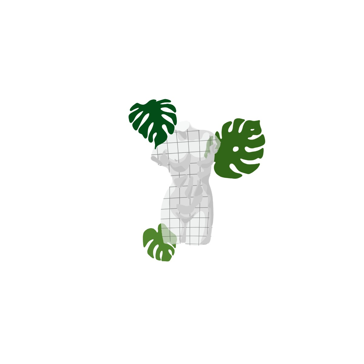 Torso Grid Leaves